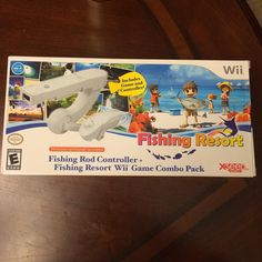 Interesting one by superchris504 #retrogames #microhobbit (o) http://ift.tt/1Tyiofq eBay pick up! This is a factory sealed fishing resort combo pack for the wii. I sniped it on a buy it now. I think this might be rare because I haven't seen too many of them be floating around #Nintendo#wii #nintendo wii #RareGames #wiillcollection #xseed #fishingresort #fishing #VideoGames #Retro #retrogamer  #RetroCollective #RetroCollectiveus #sega #sony #games #gamer #nostalgia #fishinggames #fish