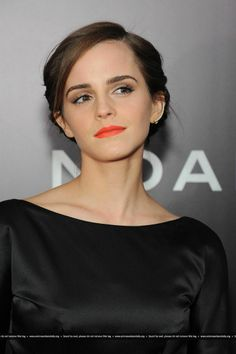 Emma Watson at the New York premiere of Noah on March 26,2014.