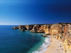 Algarve, Portugal The most spectacular beaches can be found in the area of Algarve. Breathetaking