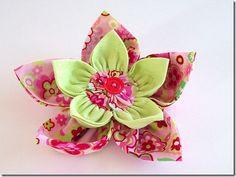 Pretty Fabric Flower