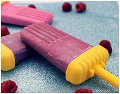 Berries and Cream Ice Cream Pops - Raspberries & Cream, Blackberries & Cream, and Mixed Berries & Cream pops #summer #treats
