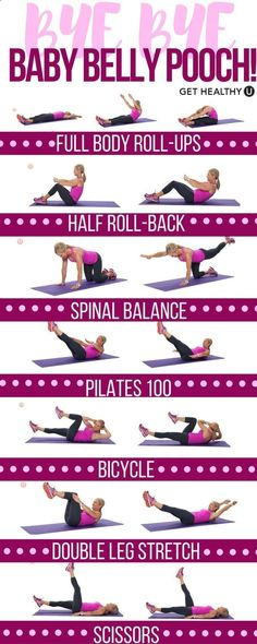 Time for mom to get strong! Blast away that baby belly pooch with these killer Pilates exercises that strengthen your core and tone your entire body. This is the perfect nap time low-impact workout, and beginner friendly too!