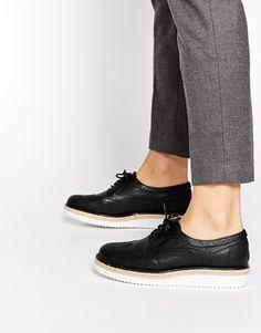 New Look - Limehouse - Chaussures à semelle plateforme - Noir