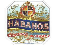 Habanos Art Print. $24.95