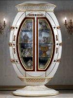 Витрина LEG018 Гостиная Luxury Cappelletti Классическая мебель ВИТРИНЫ, ГОРКИ, СЕРВАНТЫ