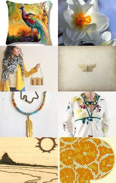 Spring sun - wear yellow by Alexandra Balau on Etsy--Pinned with TreasuryPin.com