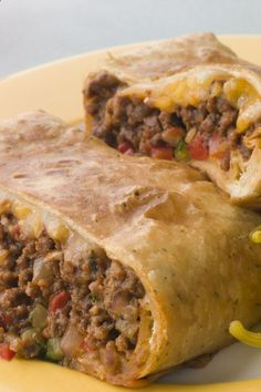 Skinny WW Chimichangas - Baked, not Fried. An excellent low fat chimchangas recipe. It is baked. Calories 94.7 each