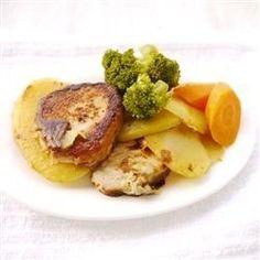 Skillet Pork Chops with Potatoes and Onion - Allrecipes.com