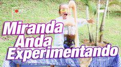 Experimentos caseros: Mentos y Coca Cola / Miranda Anda