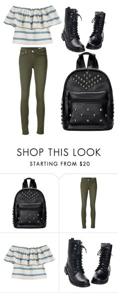 """""""Daisy's eighth grade outfit"""" by i-live-in-the-valley-49 ❤ liked on Polyvore featuring rag & bone/JEAN and Mara Hoffman"""
