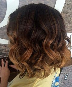 long brown bob with