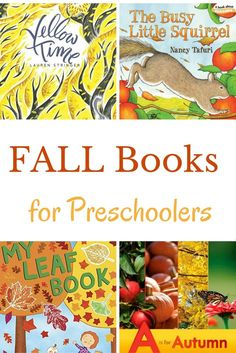 Fall books for presc
