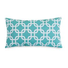 We loved the delicate look of this Paper Chain Pillow - Small. Its graceful shape looks terrific among an ensemble of accent pillows, and its striking print – available in a slew of awesome designer sh...  Find the Paper Chain Pillow - Small, as seen in the Throw Pillows Collection at http://dotandbo.com/category/decor-and-pillows/pillows/throw-pillows?utm_source=pinterest&utm_medium=organic&db_sku=94132