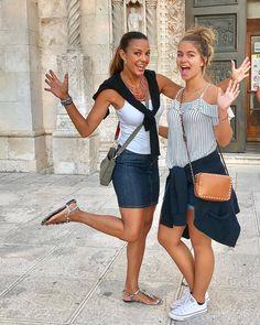 Eva Larue, Friends Family, Denim Skirt, 18 Days, Couples, Croatia, Skirts, Hotels, Europe