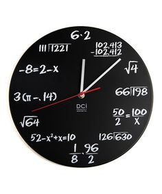 Take a look at this Pop Quiz Clock on zulily today!