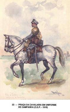 Cavalry Square  Expeditionary Portuguese Body - 1916-1918