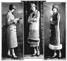 vintage. coats. hats. lips.