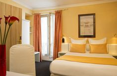Hotel Eiffel Turenne Paris - our excellent hotel in Paris.  Very quiet A/C, nice bkfst, staff is great and speaks English.