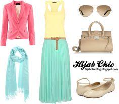 Hijab style inspiration: pink blazer style