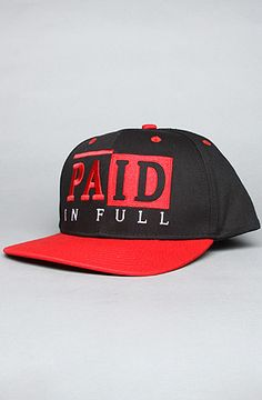 """""""Paid In Full Snapback"""""""