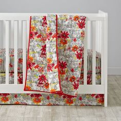 Shop Floral Pop Crib Bedding.  Filled with gorgeous flowers and patterns, our Floral Pop Crib Bedding is always in full bloom.  Pair bright floral prints together for your girl's nursery.