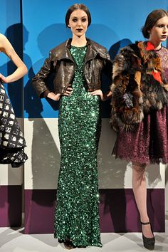 alice + olivia fall 2012 ready to wear...LOVE SEQUINSSSS