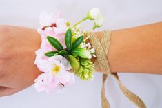 Pink wrist corsage, Wedding wrist corsage, Flower wrist corsage, Bridesmaids corsage, Bridal wrist corsage, Boho wedding, Bridesmaids gift Wrist Corsage Wedding, Bridesmaid Corsage, Wedding Bridesmaids, Bridesmaid Gifts, Boho Wedding, Bridal, Trending Outfits, Unique Jewelry, Handmade Gifts