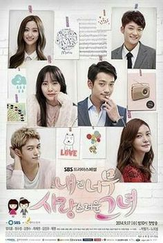 My Lovely Girl is a 2014 South Korean television series starring Jung Ji-hoon, L, Krystal Jung and Cha Ye-ryun.  L so handsome, great acting. Rain and Krystal. 8⃣