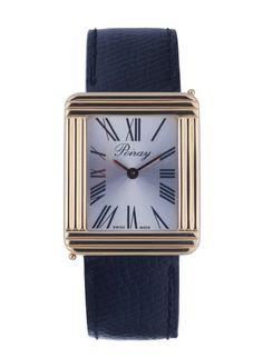 Poiray montre Ma Première http://www.vogue.fr/joaillerie/shopping/diaporama/montres-carrees-horlogerie/20947/image/1109152#!poiray-montre-ma-premiere