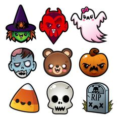 Super cute Halloween stuff from sugarhai. Click to see t-shirts ...