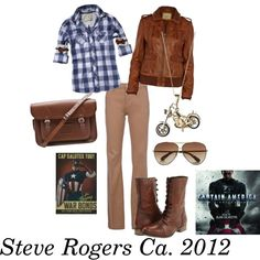 """""""Steve Rogers/Captain America-The Avengers"""""""