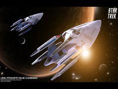 Star Trek USS Prometheus NX-59650. Free Star Trek computer desktop wallpaper, images, pictures download