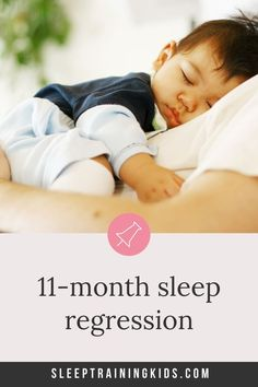 Whether youre in the middle of this sleep regression at 11 months or anticipating it here are 30 things to know about the sleep regression. Kids Sleep, Good Sleep, 11 Month Sleep Regression, Kids And Parenting, Parenting Hacks, Sleep Training Methods, Separation Anxiety, Sleepless Nights, Baby Milestones