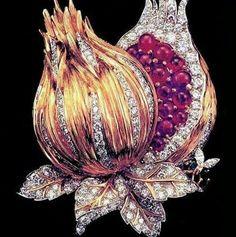 Diamonds & Rubies Brooch...   ~CRV~