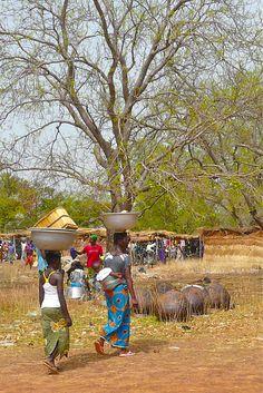 Market . Burkina Faso