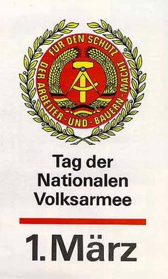 For the protection of workers & peasants& power Ddr Brd, Ddr Museum, Military Insignia, East Germany, Cold War, Psychology, Memories, Teaching, Humor