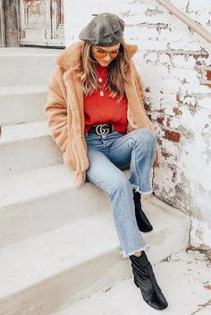 casual warm winter outfit ideas for women style and fashion