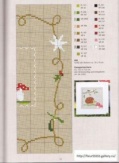Gallery.ru / Фото #69 - 36 - Fleur55555 - Hedgehog cross stitch page 1
