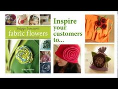 Indygo Junction's Fabric Flowers: 25 Flowers for Fashion & Home by Amy Barickman $24.99 teaches you to create beautiful blooms for your wardrobe with recycled jeans, ties, sweaters, t's, needle felting, wools and silks! #indygojunction #fabricflowers #diyflowers
