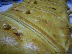 Mis recetas de cocina: EMPANADA DE TOMATES SECOS Y ANCHOAS