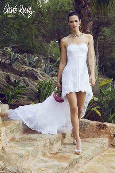 Brilla llena de elegancia y sensualidad en tu gran día con la colección Bride light de Novias by Charo Ruiz   Ref. 226613VESTIDO BUSTO  www.charoruiz.com