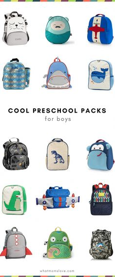 6603b7e579 Best small backpacks for preschool and toddler boys
