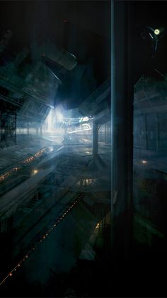 Sci-fi concept art by Levente Peterffy #4