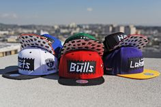 d54999334eb502 BAIT for NBA Mitchell and Ness Snapback Collection