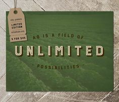 Unlimited Possibilities Poster - 1 of 5 Designed Posters in Set