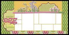 Easter quick pages double layout