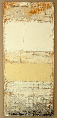 "hetart: "" paint residues - 2013 - 114,5 x 50 x 2,1 cm - mixed media on timber board - art by Christian Hetzel - www.hetart.com """