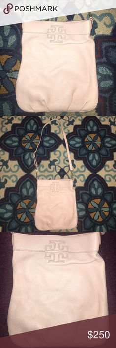 ❣️Tory Burch T stacked light pink Tory Burch Stacked T book bag. 12 inches long. Excellent condition. Carried for one hour. No scratches, signs of wear, or marks anywhere on this purse. It's in perfect condition :) light pink in color. In picture the strap is 35 inches but it can be made longer. Perfect color for spring and summer. Lots of storage room! Bonus surprise gift included with purchase. Offers are of course welcome but please no low ball offers:) first picture from google the rest…