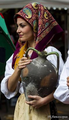 italy Ritratti di donne sarde - Cabras-Sardegna  Nice article to read: https://en.m.wikipedia.org/wiki/Sardinian_people#Traditional_clothes