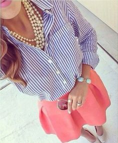 La camicia a righette #must